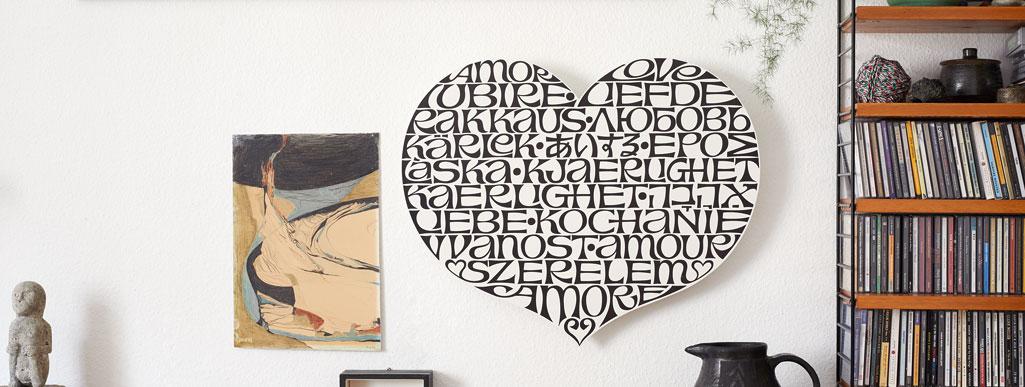 International Love Heart designed by Alexander Girard
