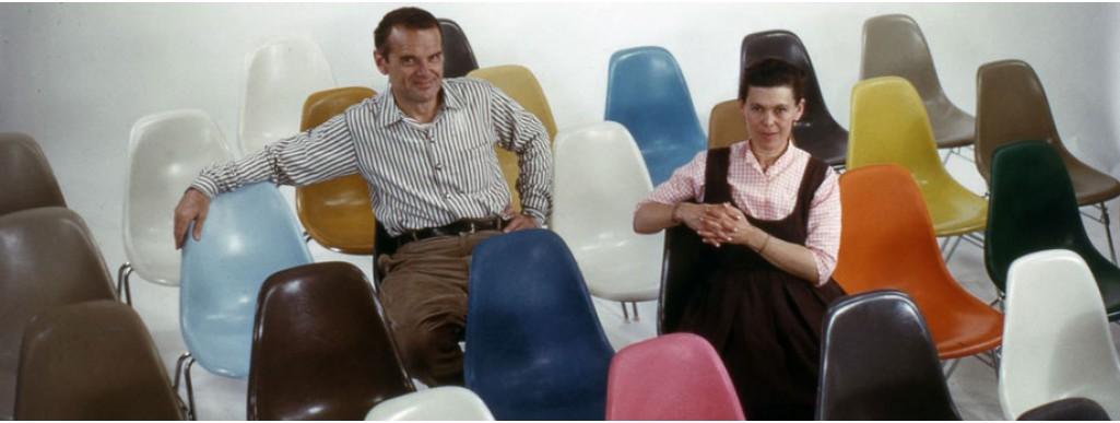 Eames Fiberglass Chair by Vitra